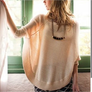 Anthropologie Sparrow Poncho Sweater size M